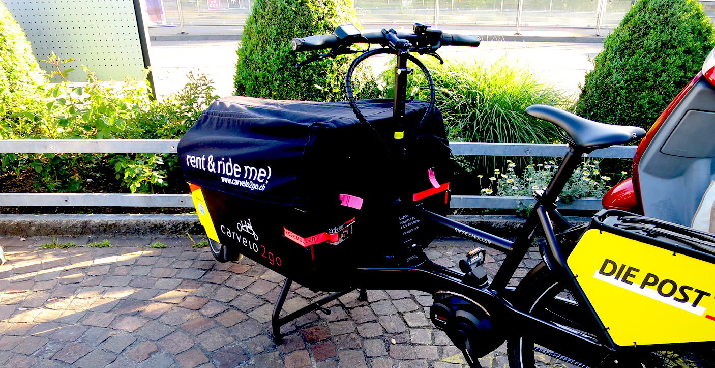 Cargobike: mit dem Fahrrad Lasten transportieren