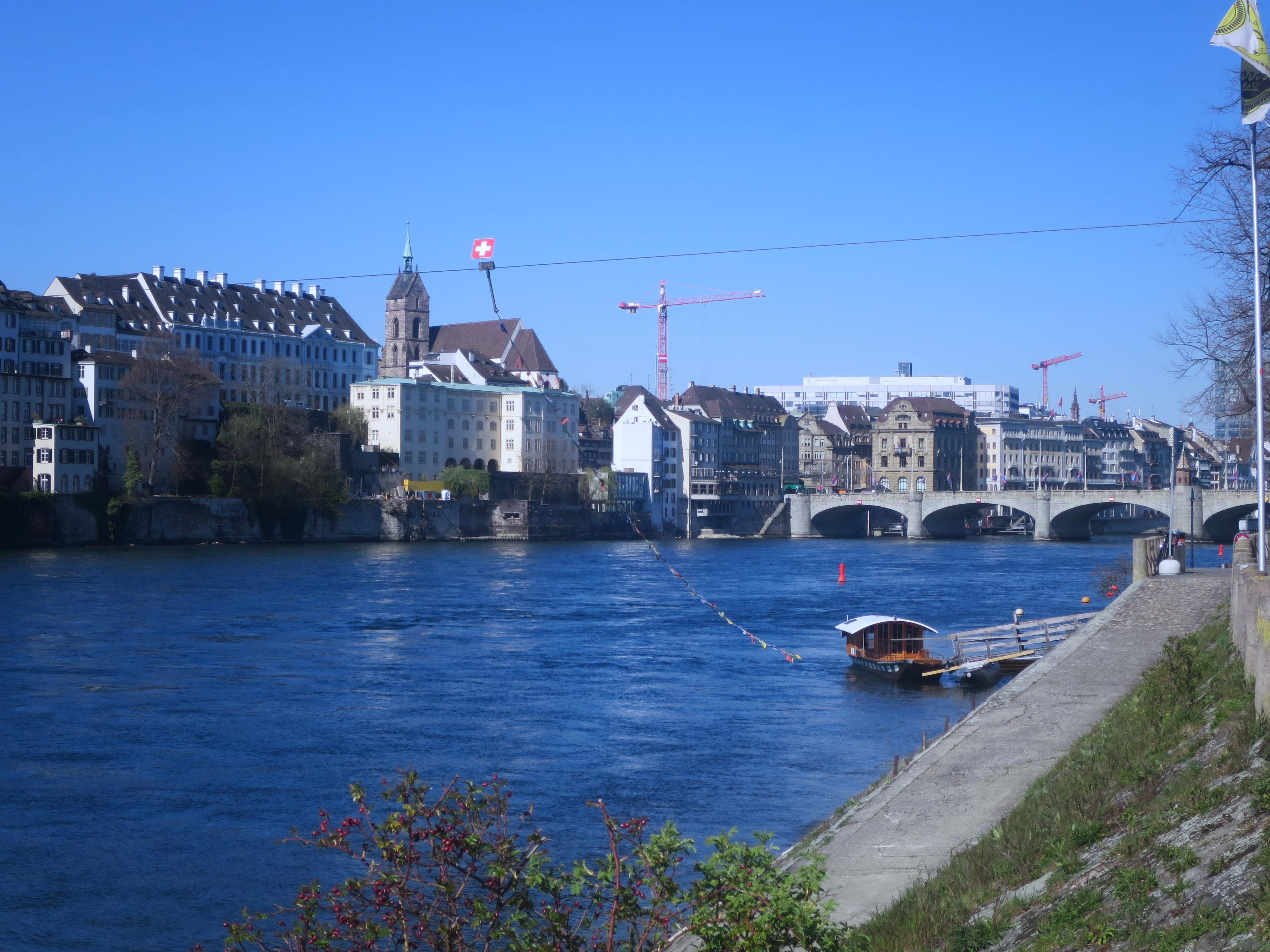Mit der Fähre über den Rhein gondeln