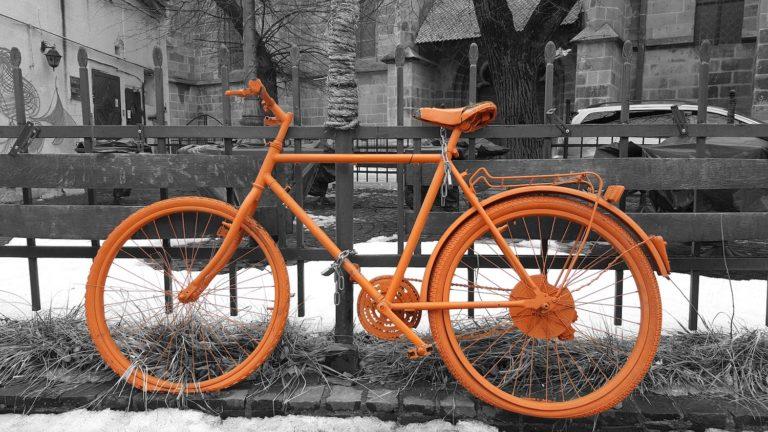 Fahrradfahren in Basel