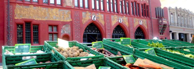 Der Stadtmarkt am Marktplatz